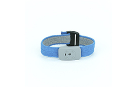 2368-Wrist Band, Dual Conductor Adjustable Fabric
