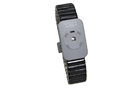 2385-Dual Conductor Metal Wrist Band, Medium