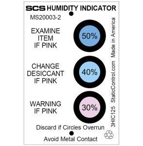 SCS Humidity Indicator