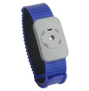 Dual Conductor Adjustable Thermoplastic Wrist Band