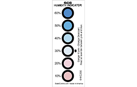 6HIC200-Humidity Indicator Card, 6-Spot, 200/CAN