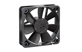 612F-Axial Fan, 60x60x15mm, 12VDC