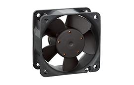 612N/2H-Axial Fan, 60x60x25mm, 12VDC