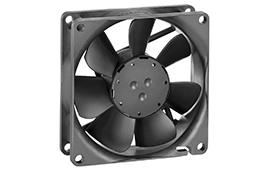 8414NGH-Axial Fan, 80x80x25mm, 24VDC