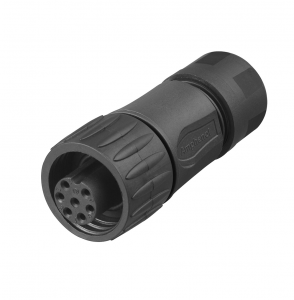 Amphenol, female cable