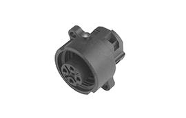 C01630G00610012-Amphenol Female Connector, C16-M Eco-mate Series, 6+PE