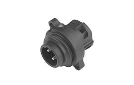 C01630C00610012-Amphenol Male Connector, C16-M Eco-mate Series, 6+PE