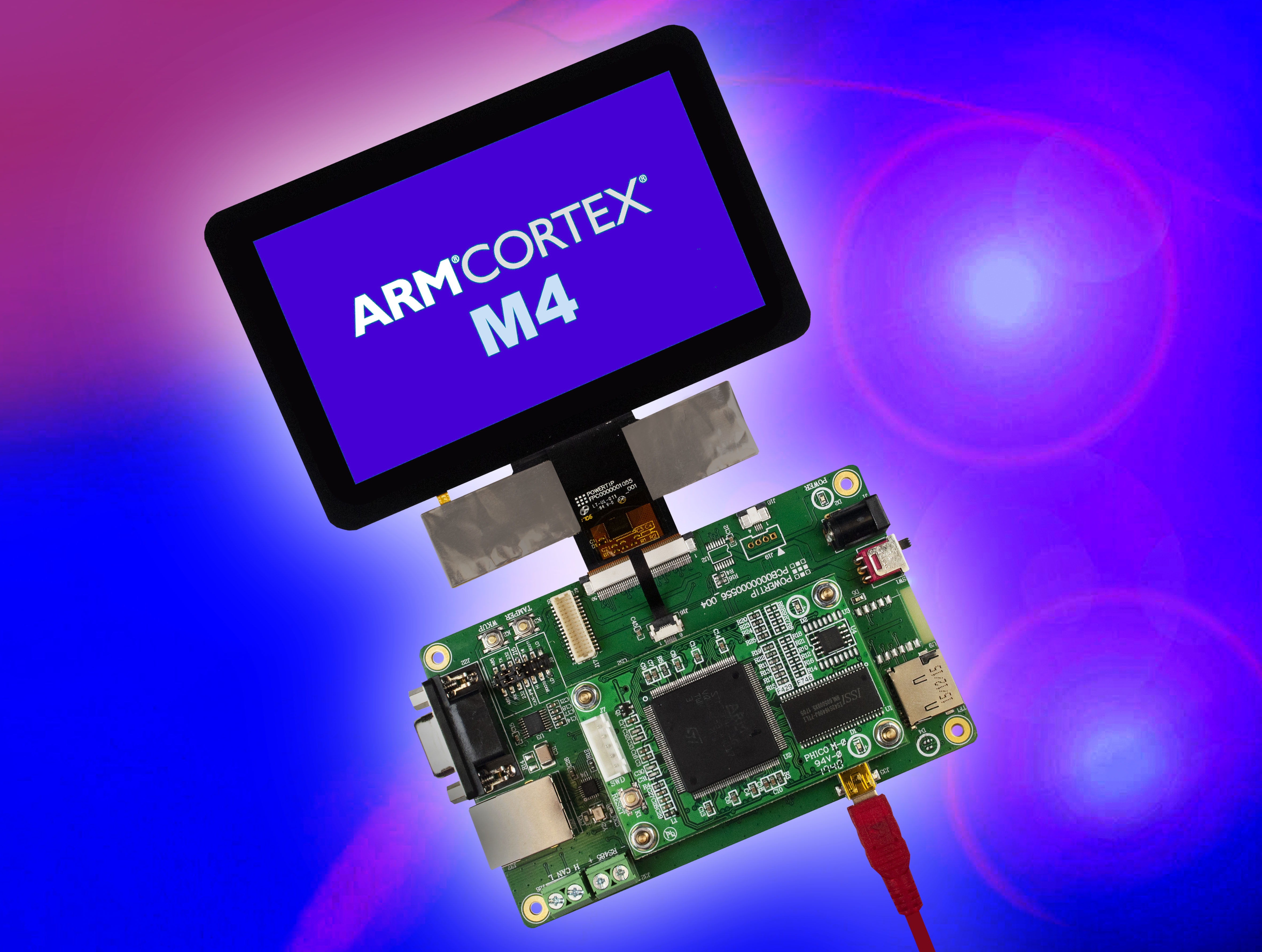 Development Time Slashed for Cortex-M4 Applications using Displays