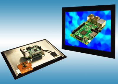 Industrialise your Raspberry Pi: 10.1″ PCAP Touch Screen Solution