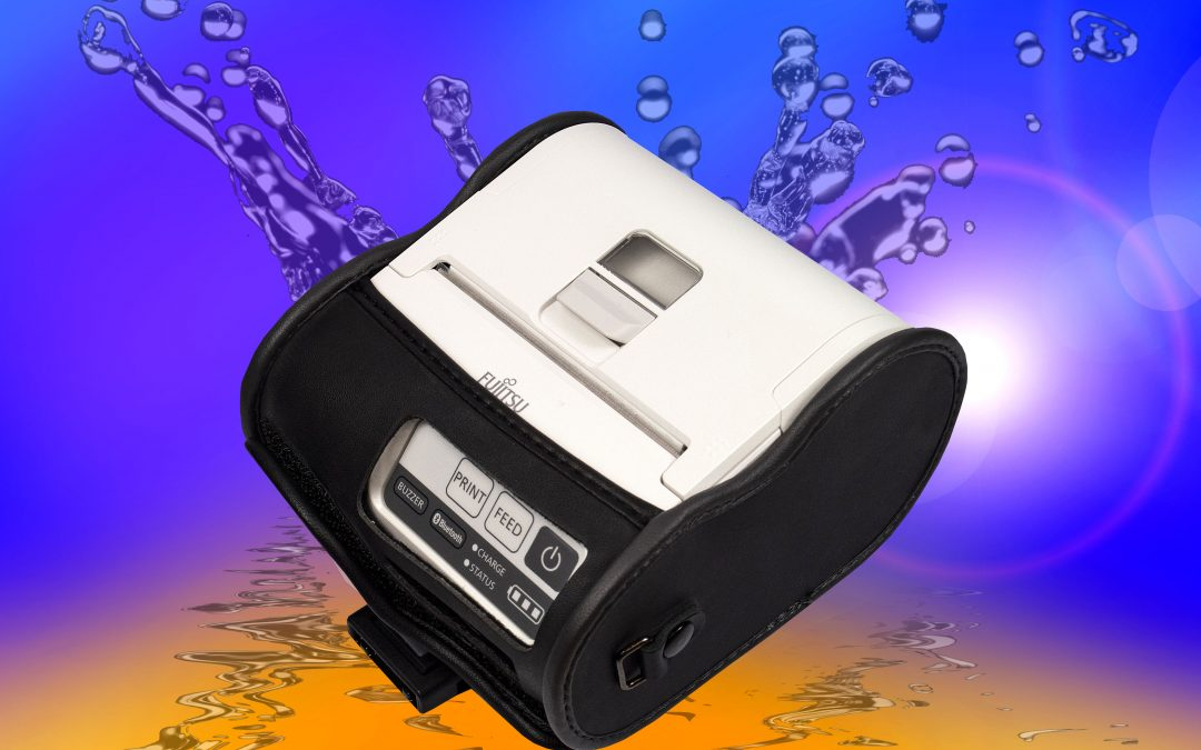 "Robust Carrying Cases for Fujitsu 2"" and 3"" Portable Thermal Printers"