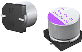 20SEP150M – OS-CON Polymer Capacitor, 20V, 150μF