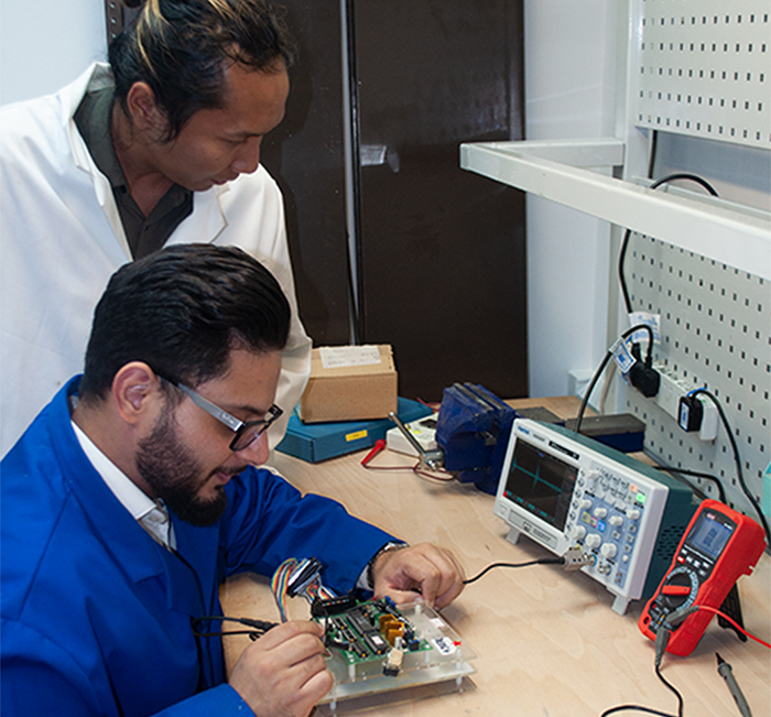 IHL Engineers Testing Products
