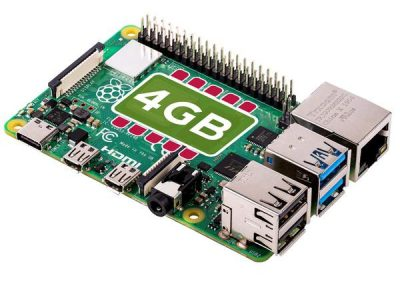 Raspberry Pi 4 Model B, 4 GB